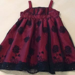 Pinky-Burgundy Holiday Ready Dress